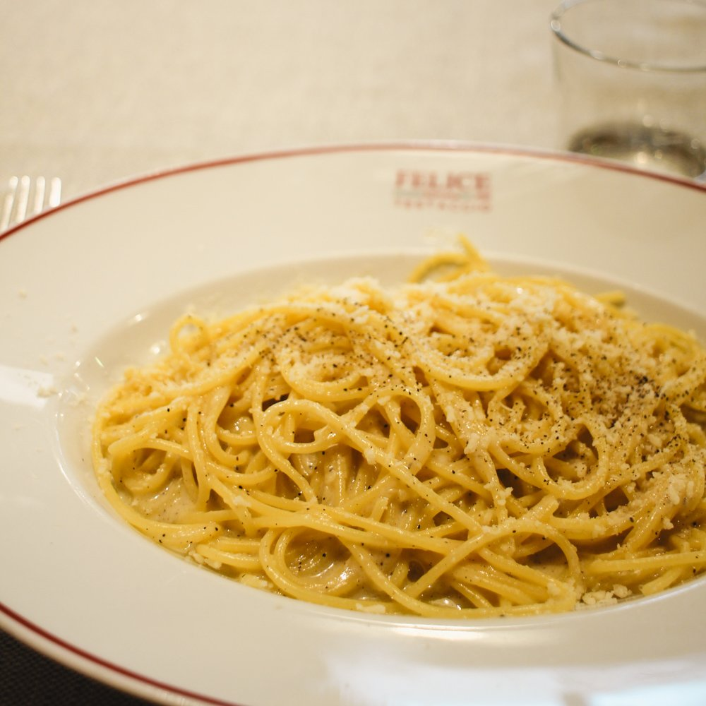 Where to eat and drink in Rome | Cacio e pepe Testaccio