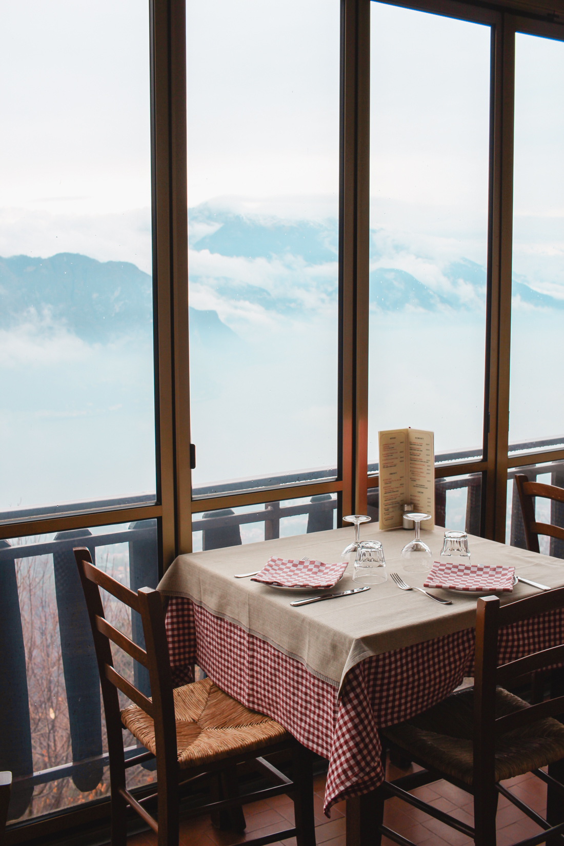 Where to eat in Lake Como. Trattoria Baita Belvedere
