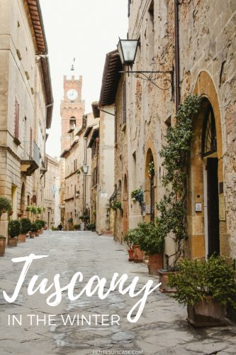 Winter in Tuscany. Things to do around Pienza. Tuscany and Italy Travel #Italy