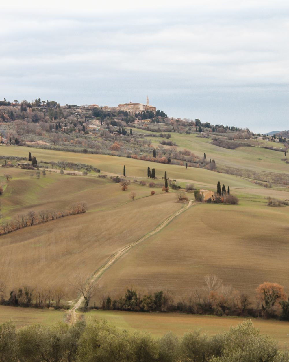 Winter in Tuscany | Pienza
