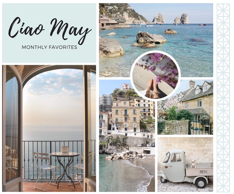 Ciao May- Blue Collage
