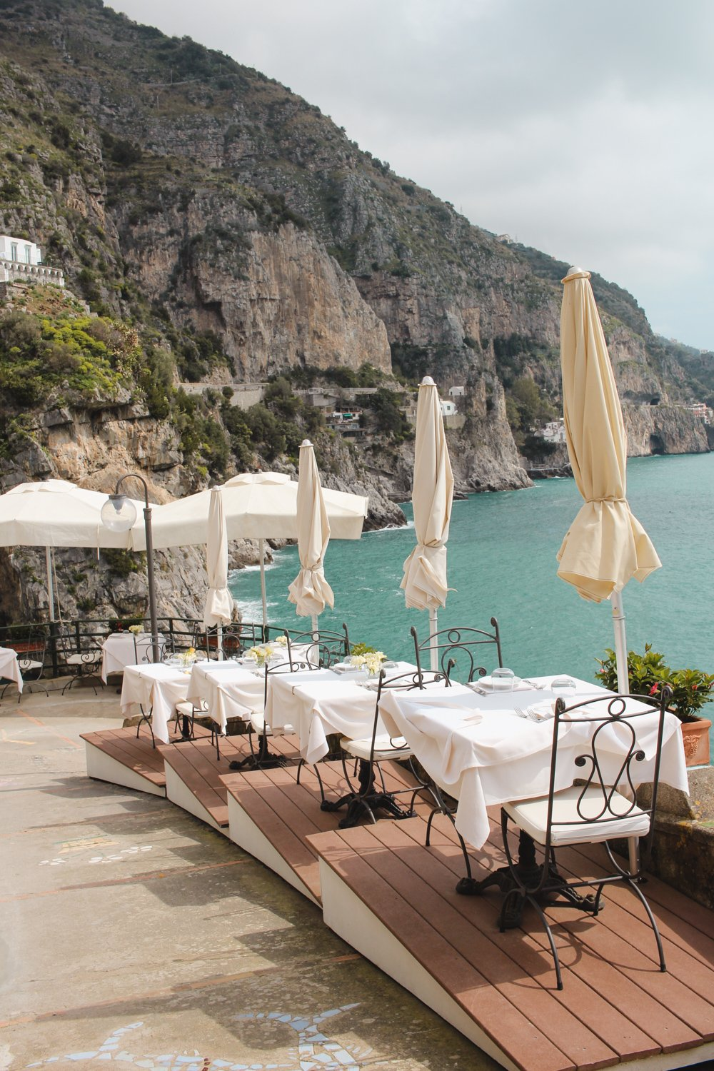 Where to eat Praiano, Amalfi Coast. Italy