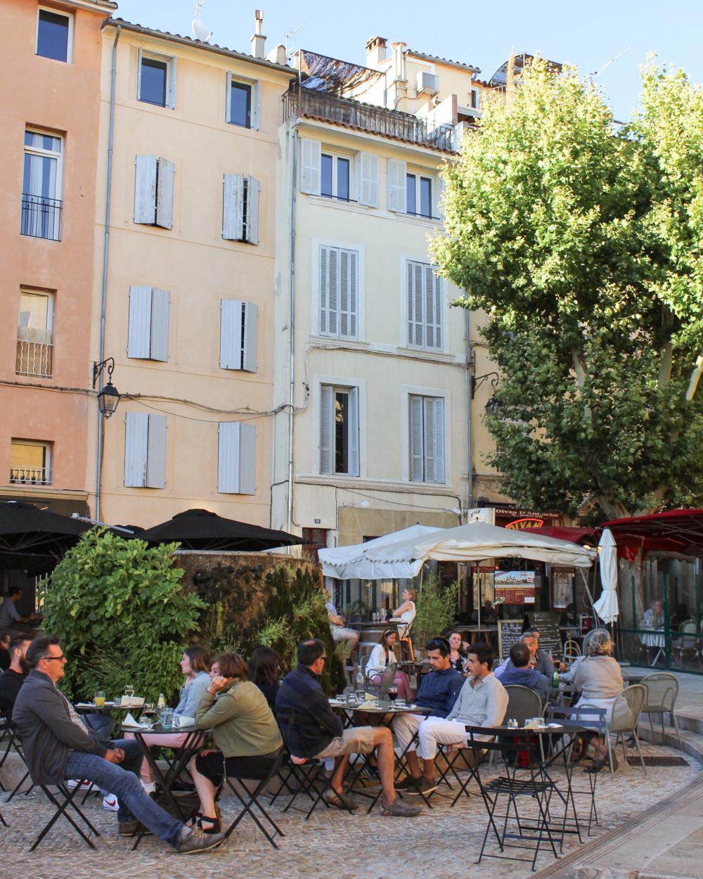 Provence Itinerary - Aix en Provence
