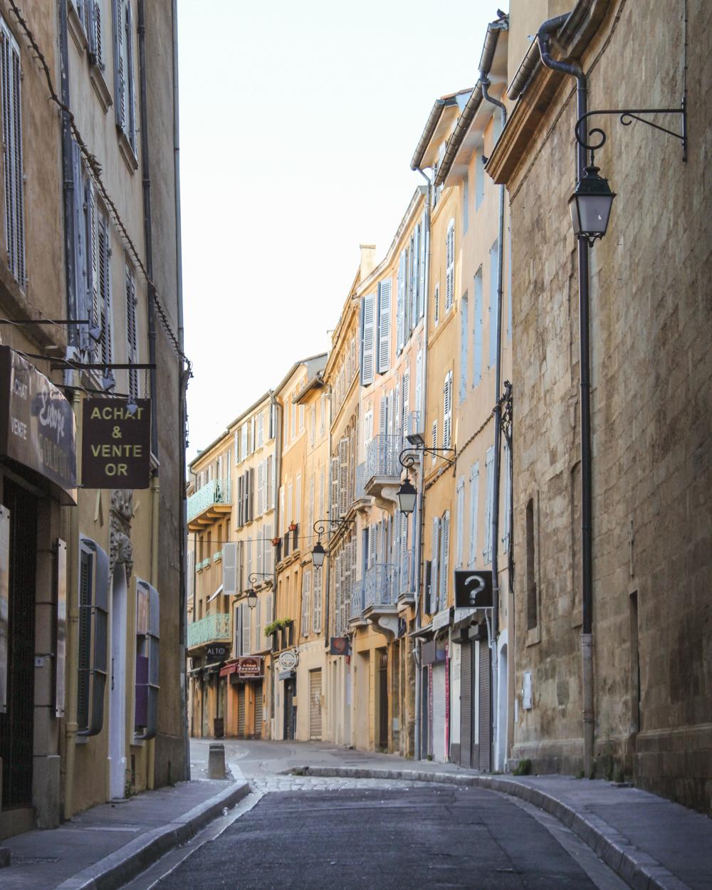 Provence Travel Itinerary Aix en Provence
