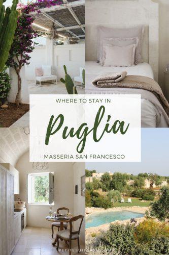 Where to Stay in Puglia: Masseria San Francesco