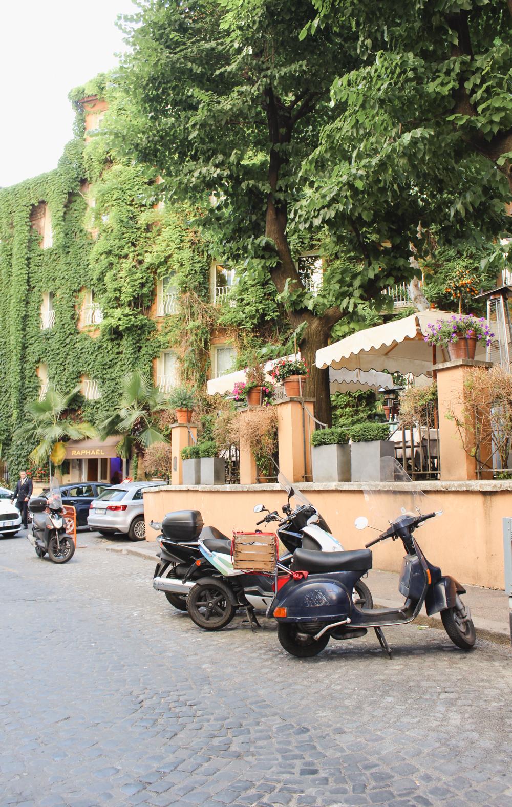 Hotel Rafael Rome Italy