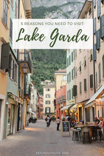 Why you need to visit Riva del Garda | Lake Garda #italy