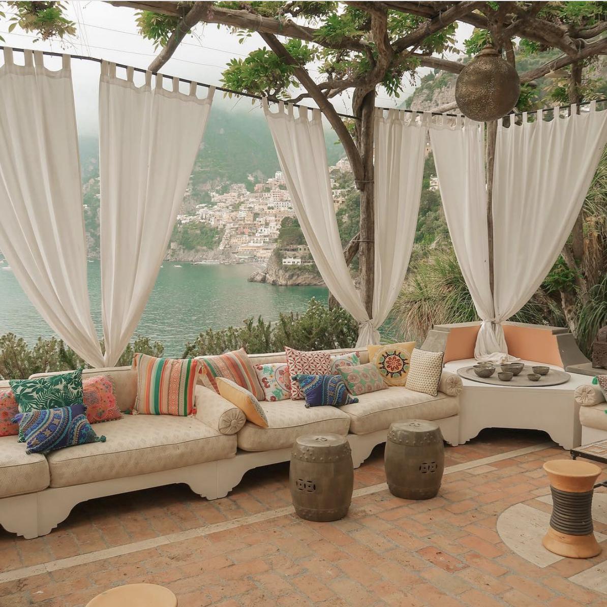 Villa Trevilla outdoor   view of Positano