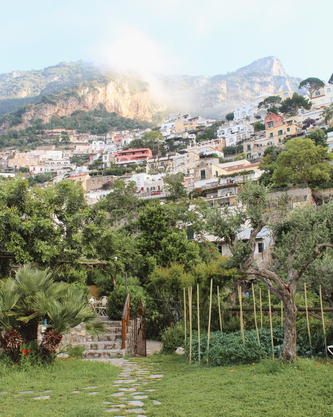 Where to Stay in Positano- Hotel Dimora Fornillo
