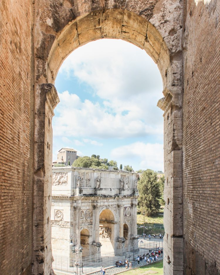 25 Things you Must do in Rome - Arch of Trajan