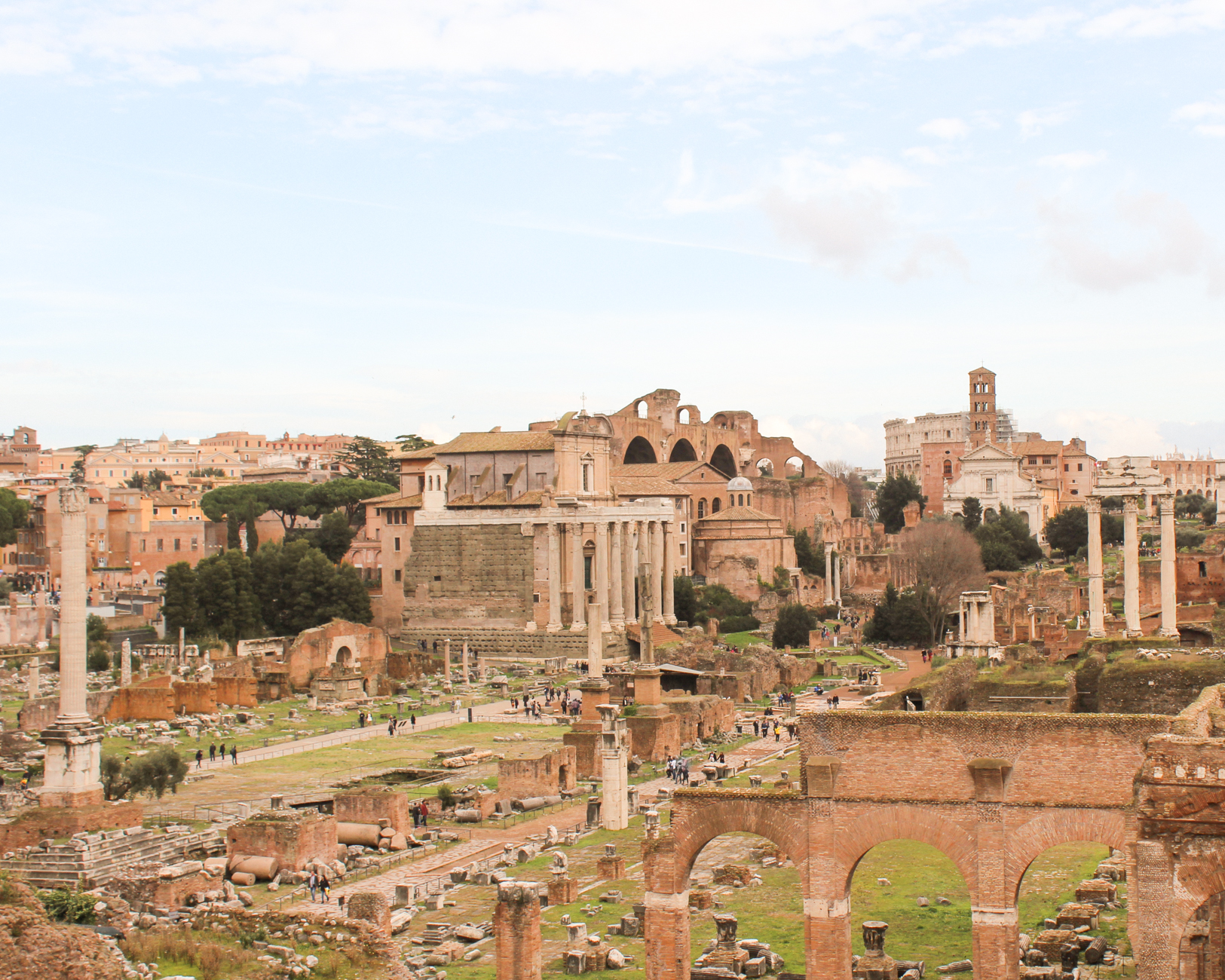 25 Things you Must do in Rome - Roman Forum