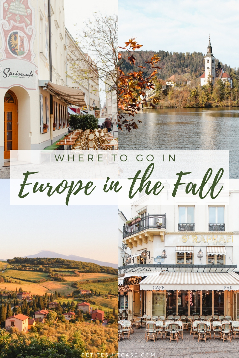 Where to go in Europe in the Fall - Europe Travel Tips | #Europe