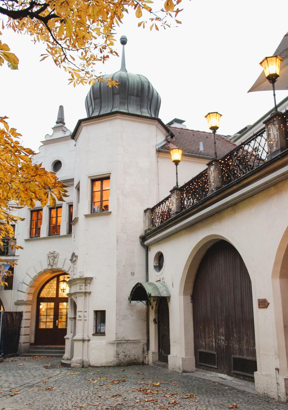 Munich Beer Garden, Germany
