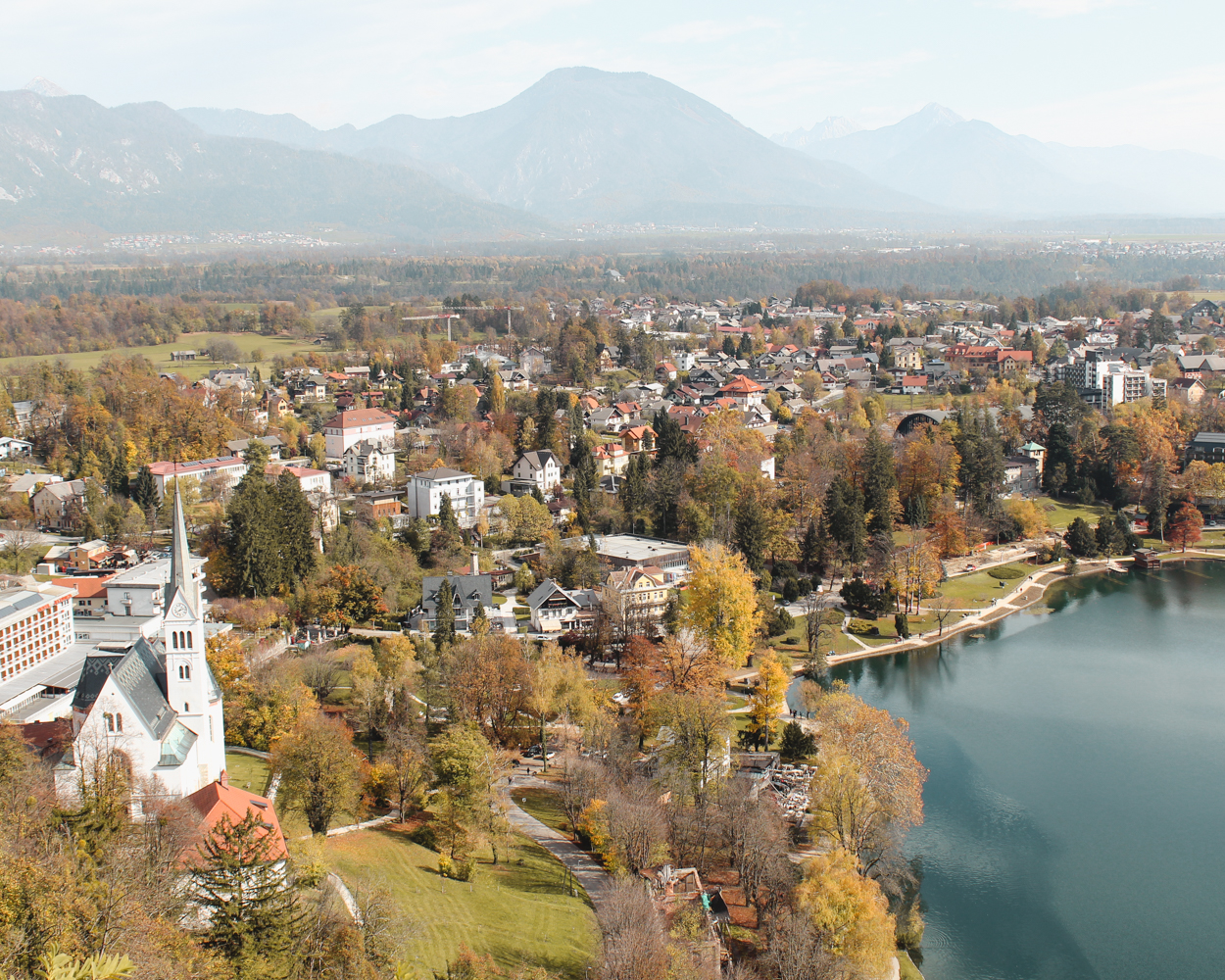 Where to go in Europe in the Fall - Lake Bled, Slovenia