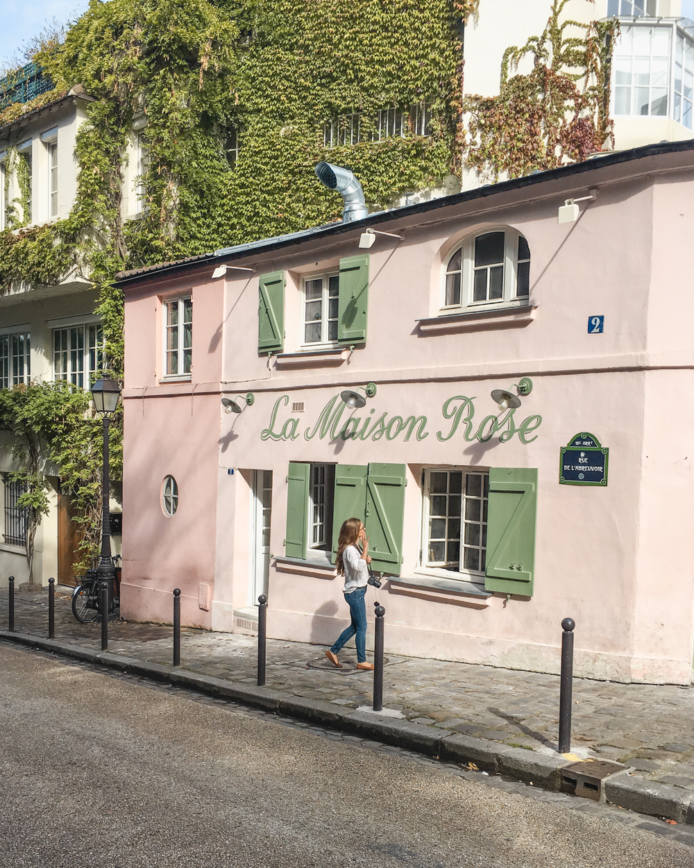 Cafes You Can't Miss in Paris- La Maison Rose
