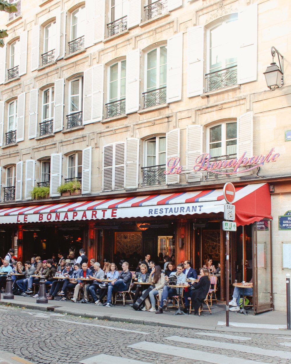 Cafes You Can't Miss in Paris - Le Bonaparte