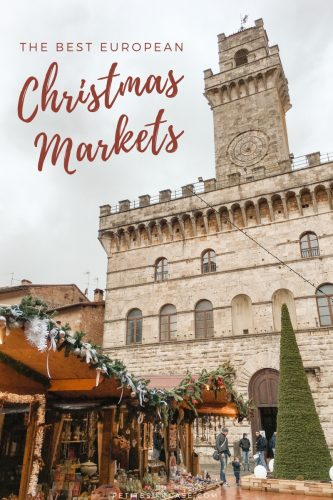 The Best Christmas Markets in Europe #italy