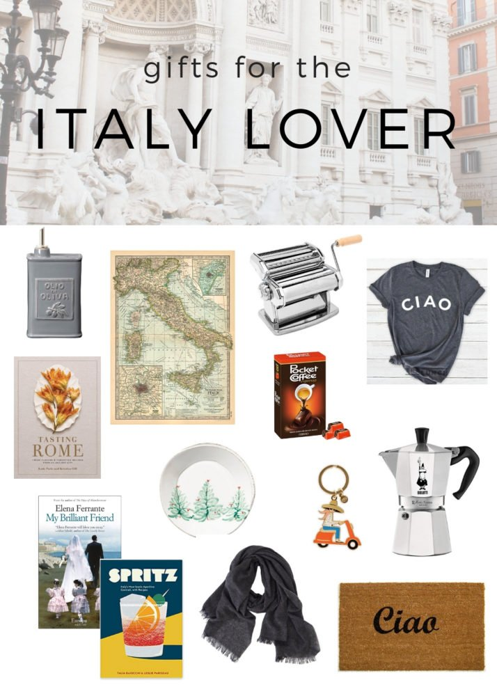 Find the perfect gift for the Italy lover this Christmas | Gift Guide |