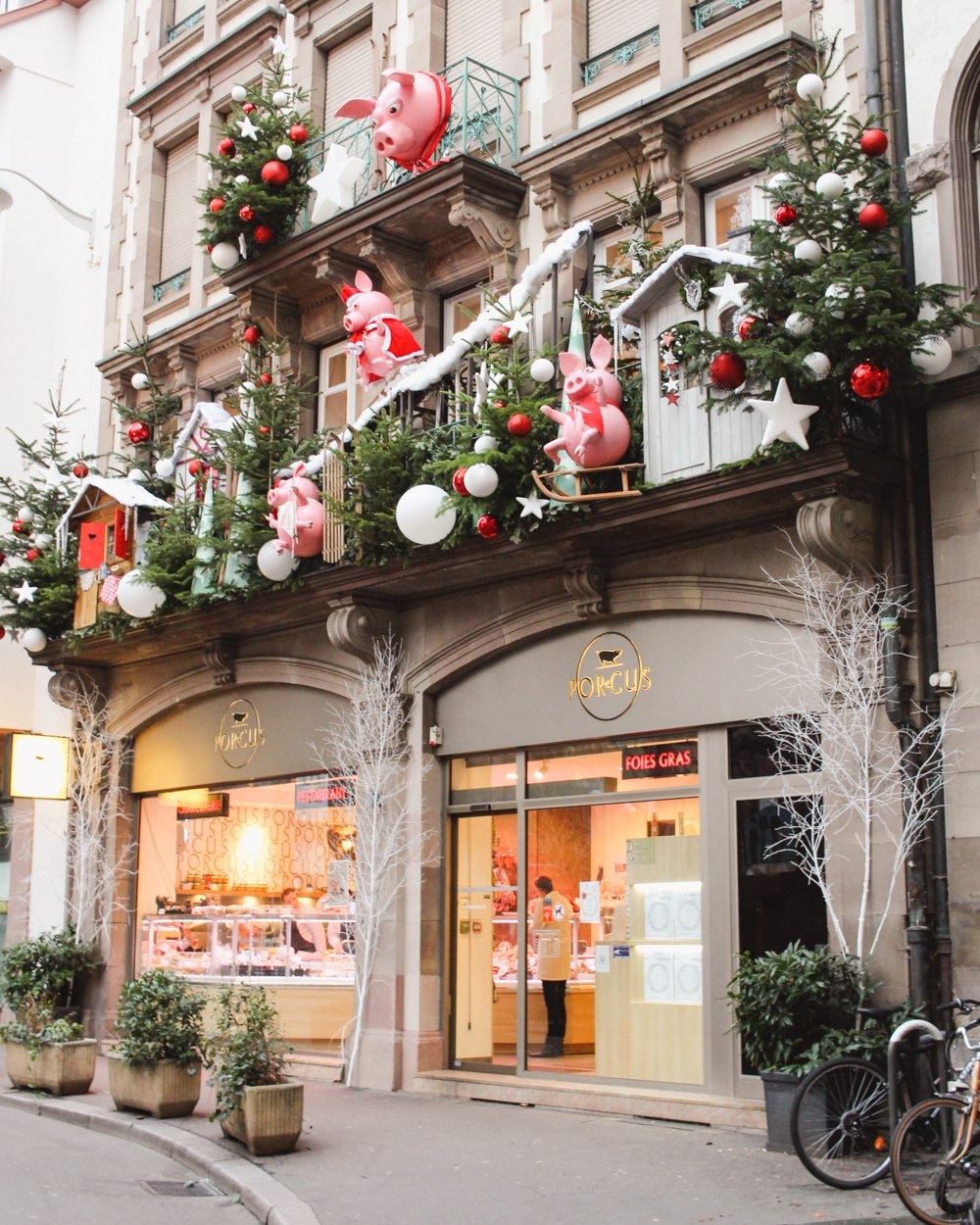 Strasbourg, France | Capital of Christmas | Butcher Shop