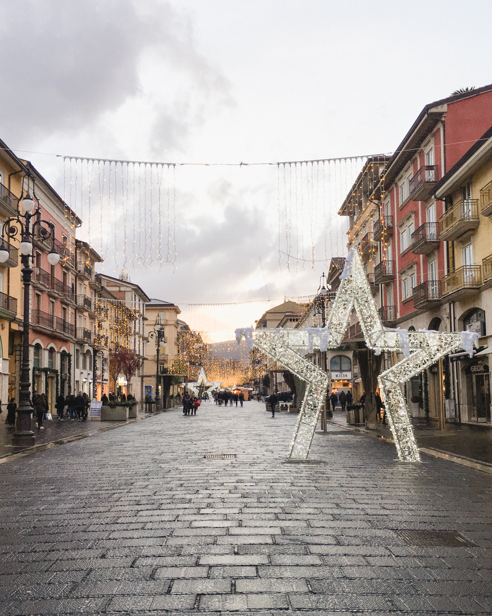 Avellino Christmas Lights | Italy Christmas Market