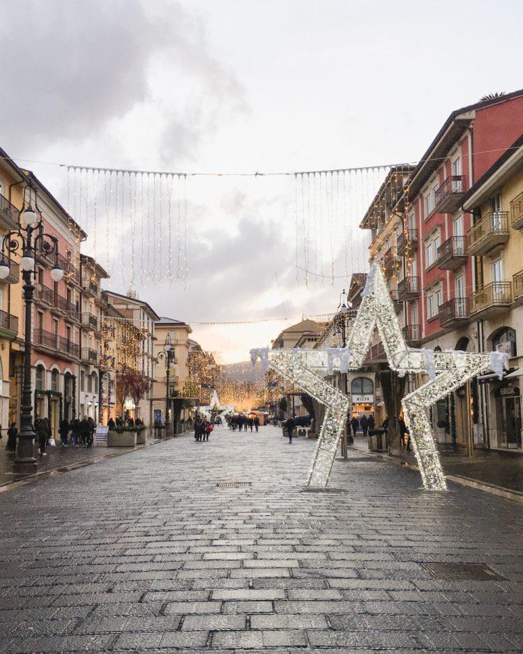 avellino Christmas lights