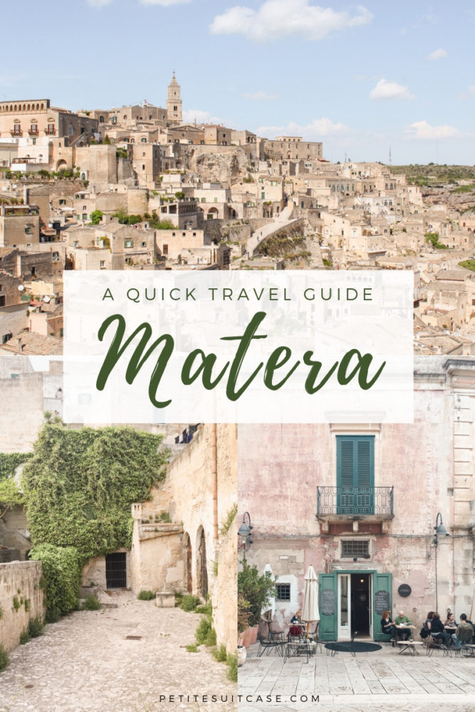 Travel Guide to Matera- Where to stay, what to do and where to eat in Matera #italy