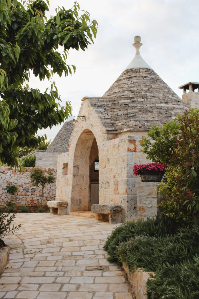Staying in a Trullo house Puglia