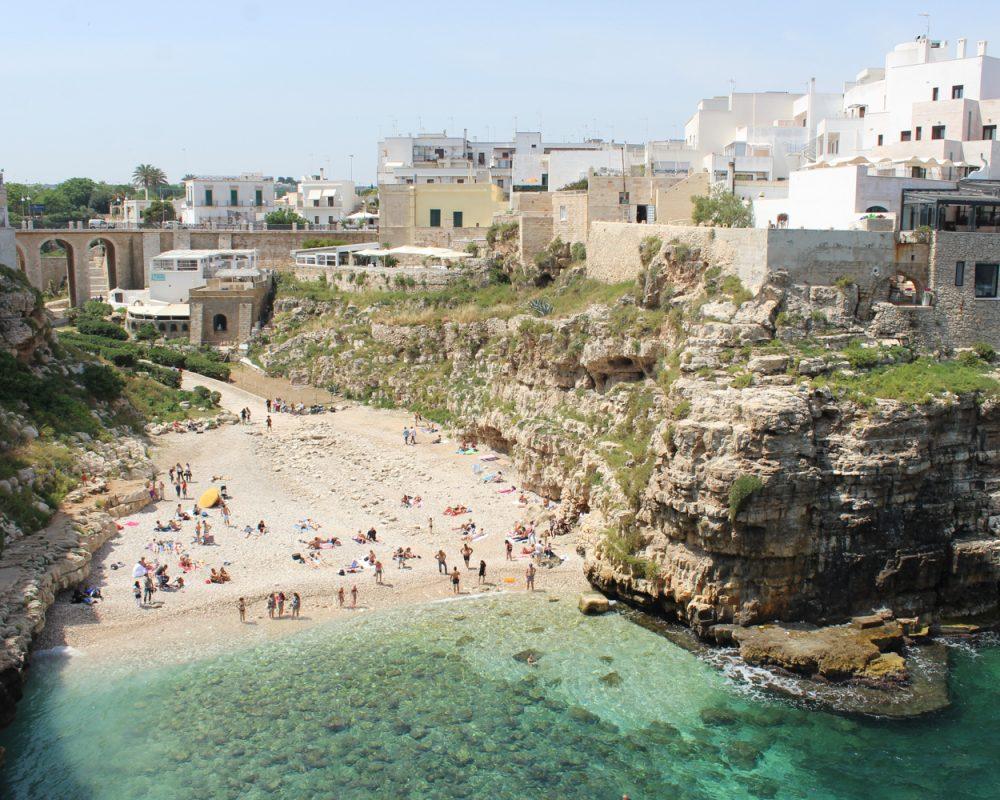 Polignano Al Mare beach