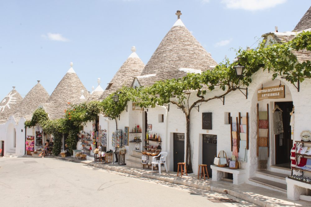 Alberobello in Puglia - Trulli Houses