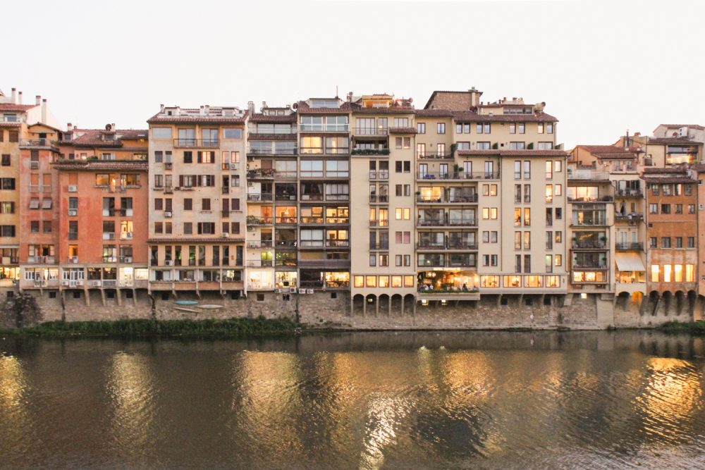Florence Travel Guide- River view
