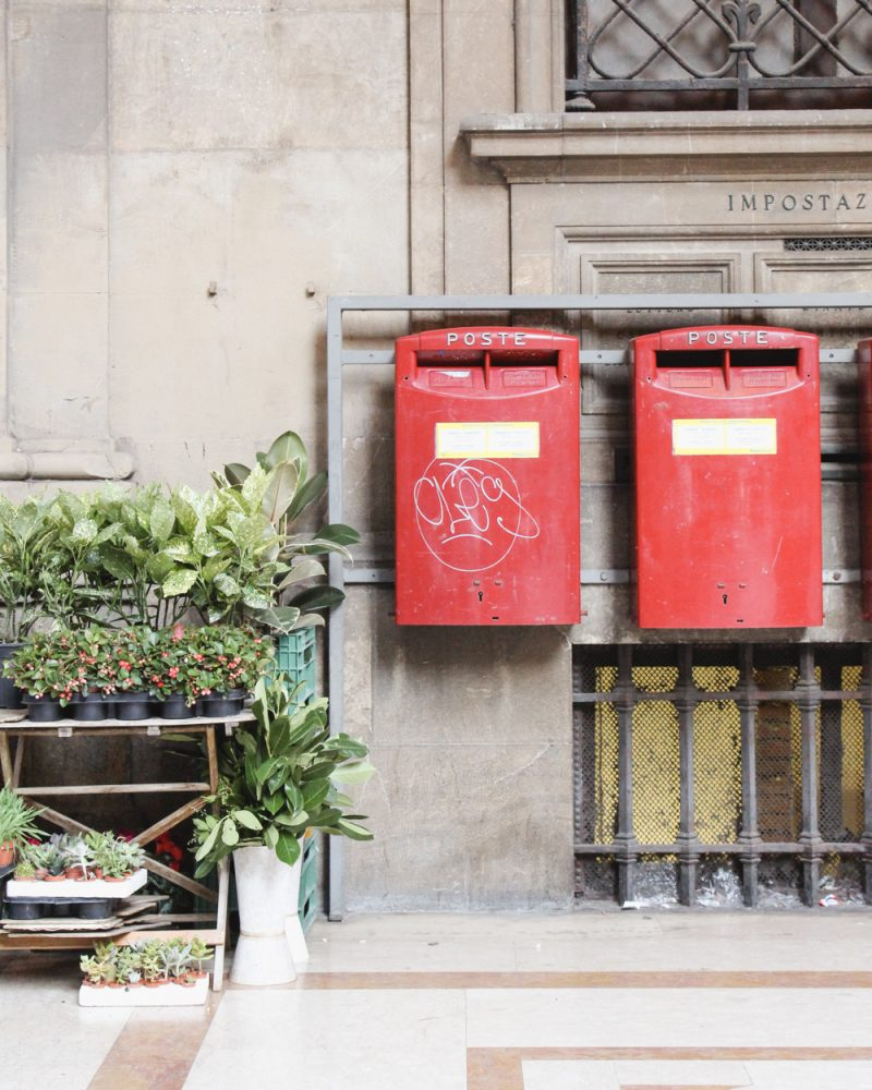 Italian mailboxes