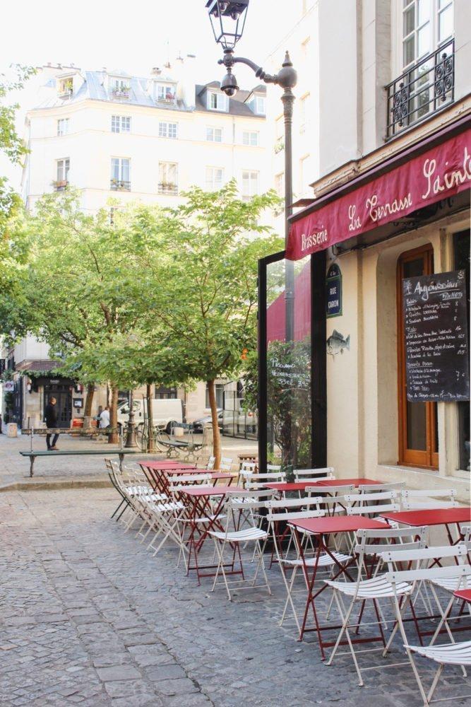 Outdoor restaurant in Paris | Terrace