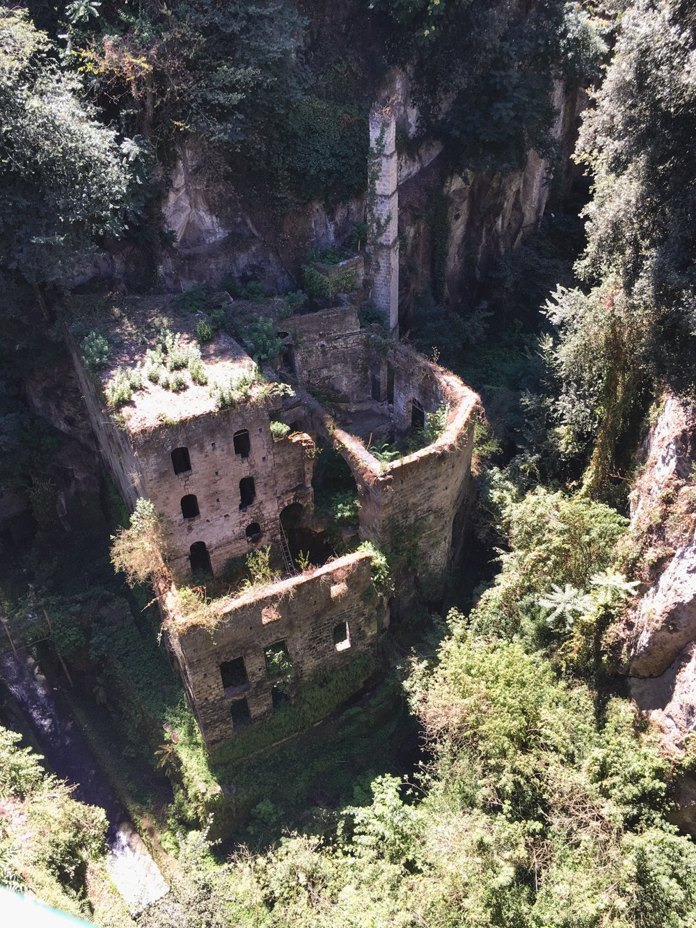 Old Mill in Sorrento | Vallone dei Mulini