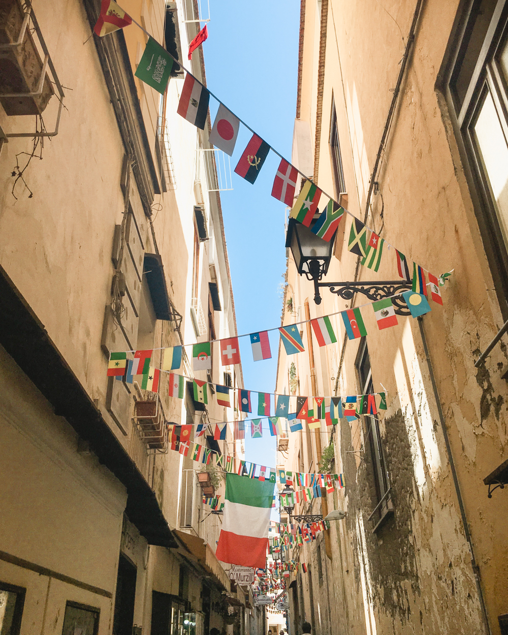 Things to do in Sorrento- Flag bunting