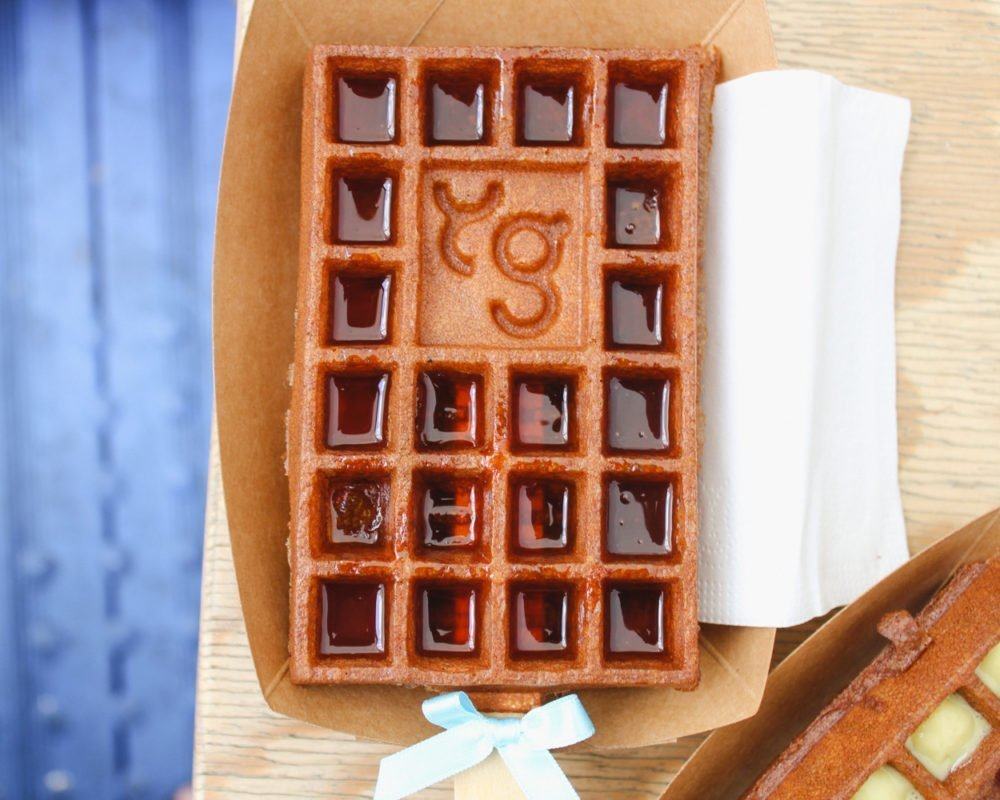 Yummy and Guiltfree | Gluten free waffles in Paris