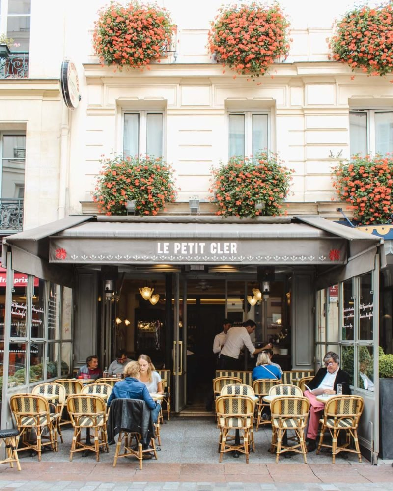 La Petite Cler on Rue Cler. Paris, France.