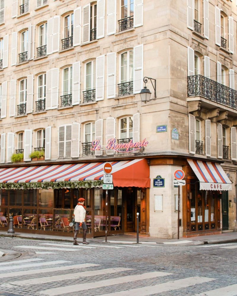 Le Bonaparte cafe in Paris