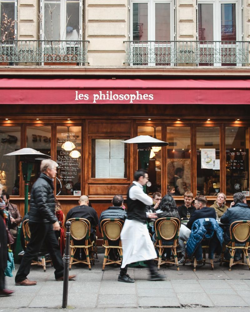Les Philosophes in Paris | Le Marais Restaurant