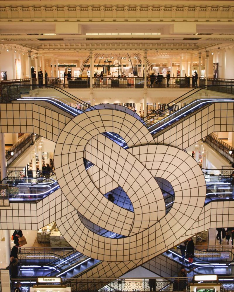 Le Bon Marché Escalators |  Department Store in Paris