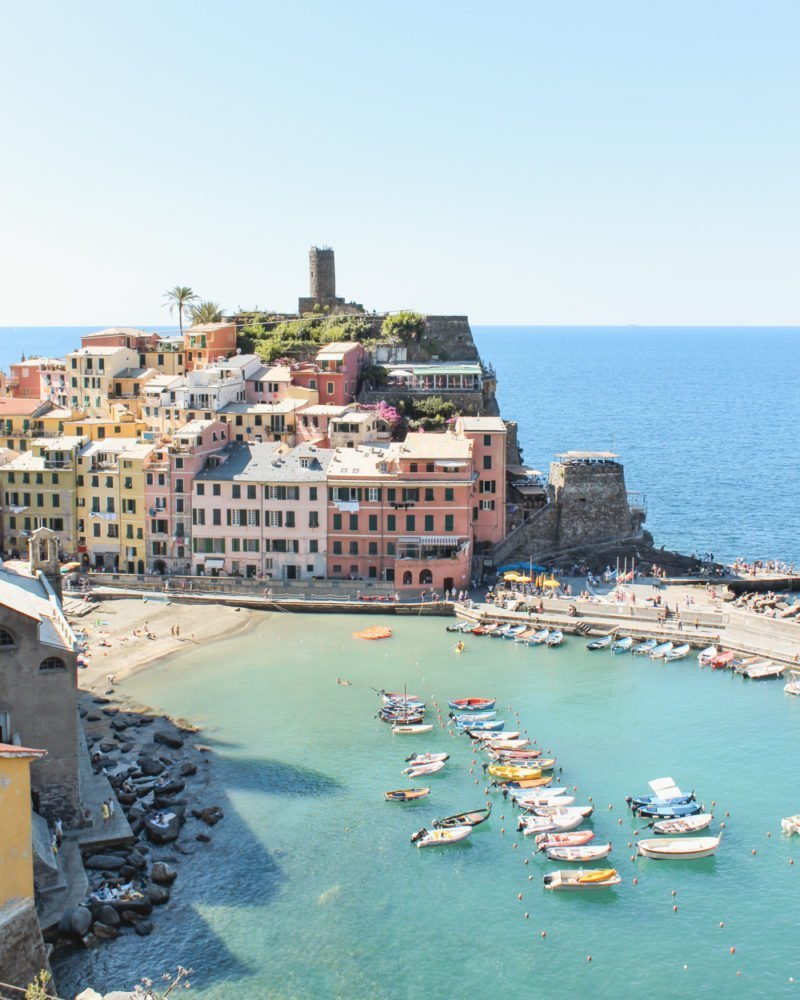 How to Plan a trip to Italy - Vernazza in Cinque Terre