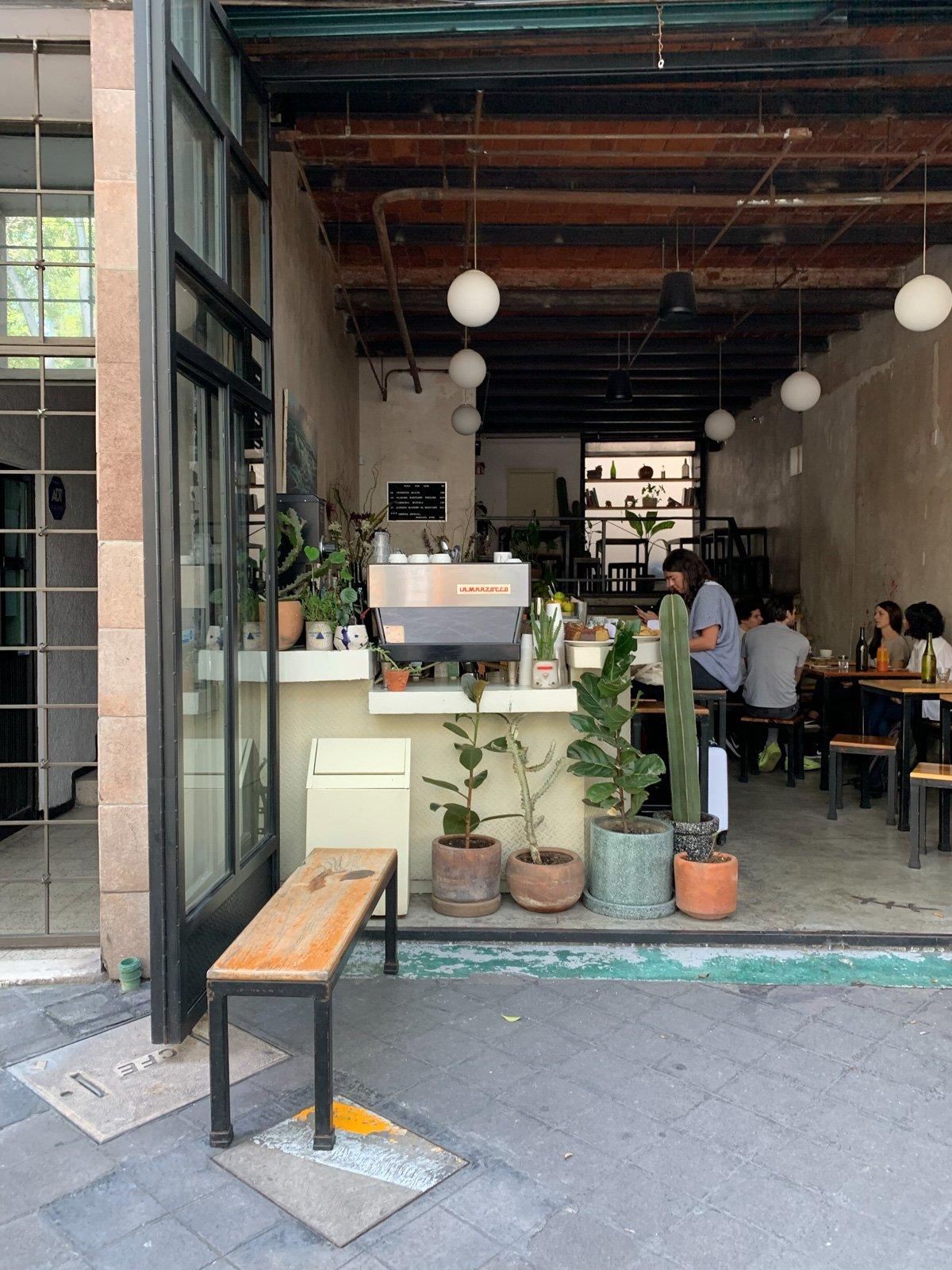 Coffee Shop in Mexico City