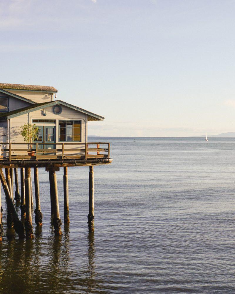 Sterns Wharf - Pier in Santa Barbara