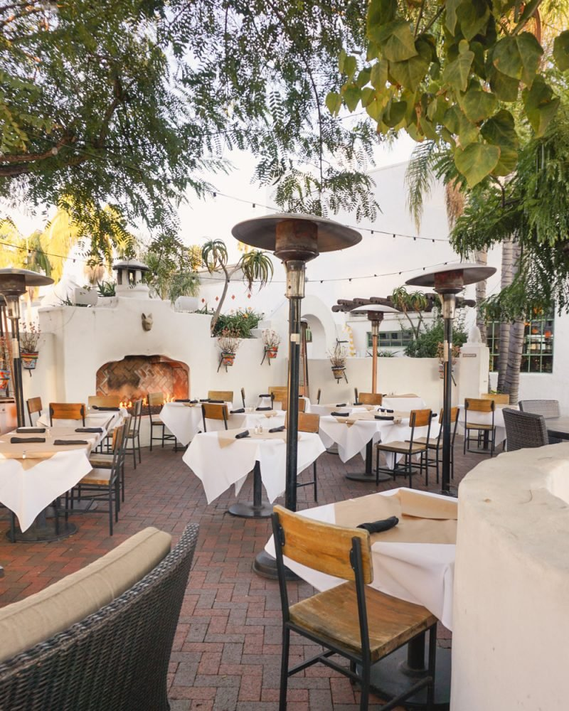Santa Barbara Outdoor Restaurant