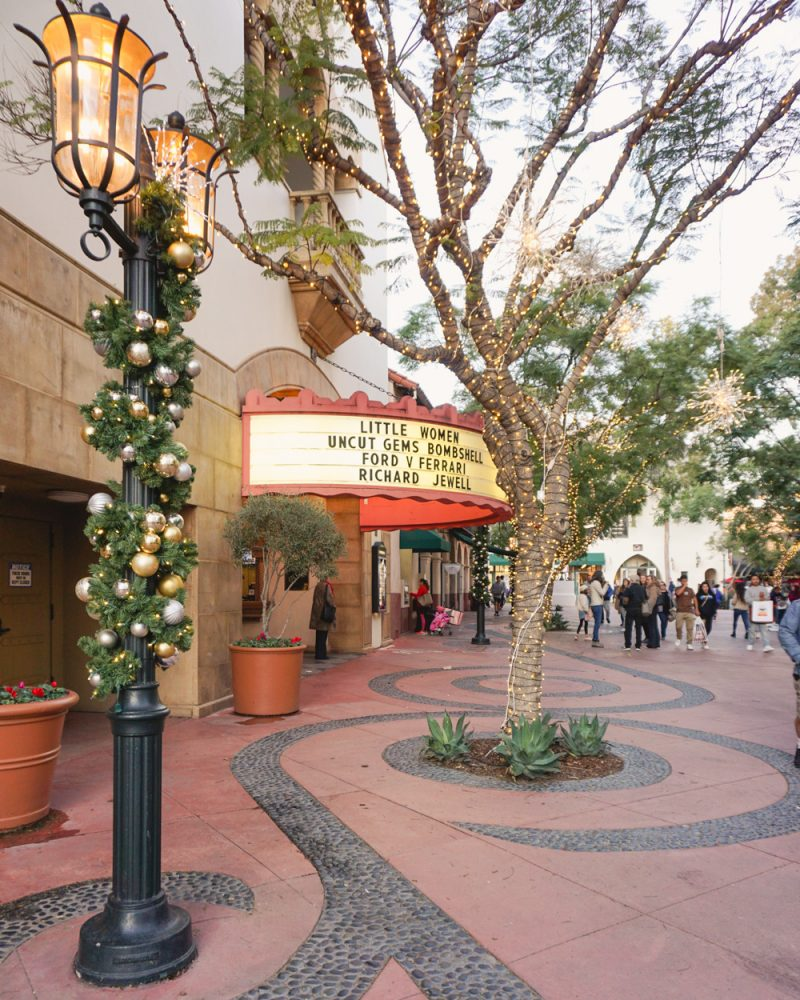 Movie theatre in Santa Barbara