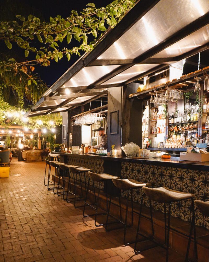 Glass House Bar in Santa Barbara