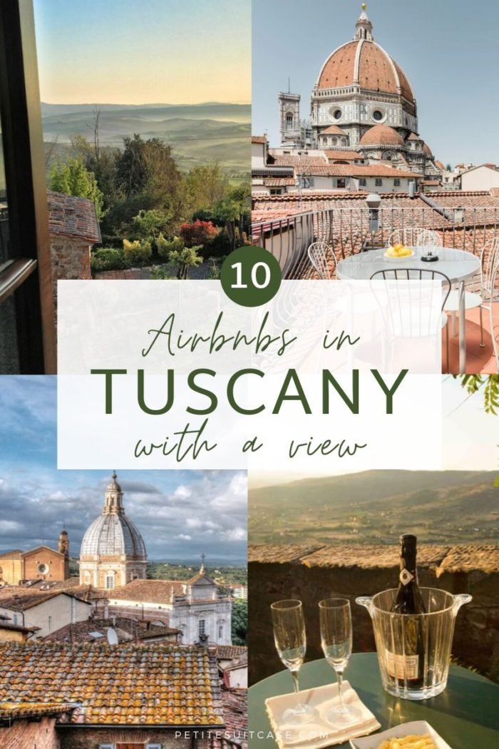 10 Airbnbs in Tuscany with a View