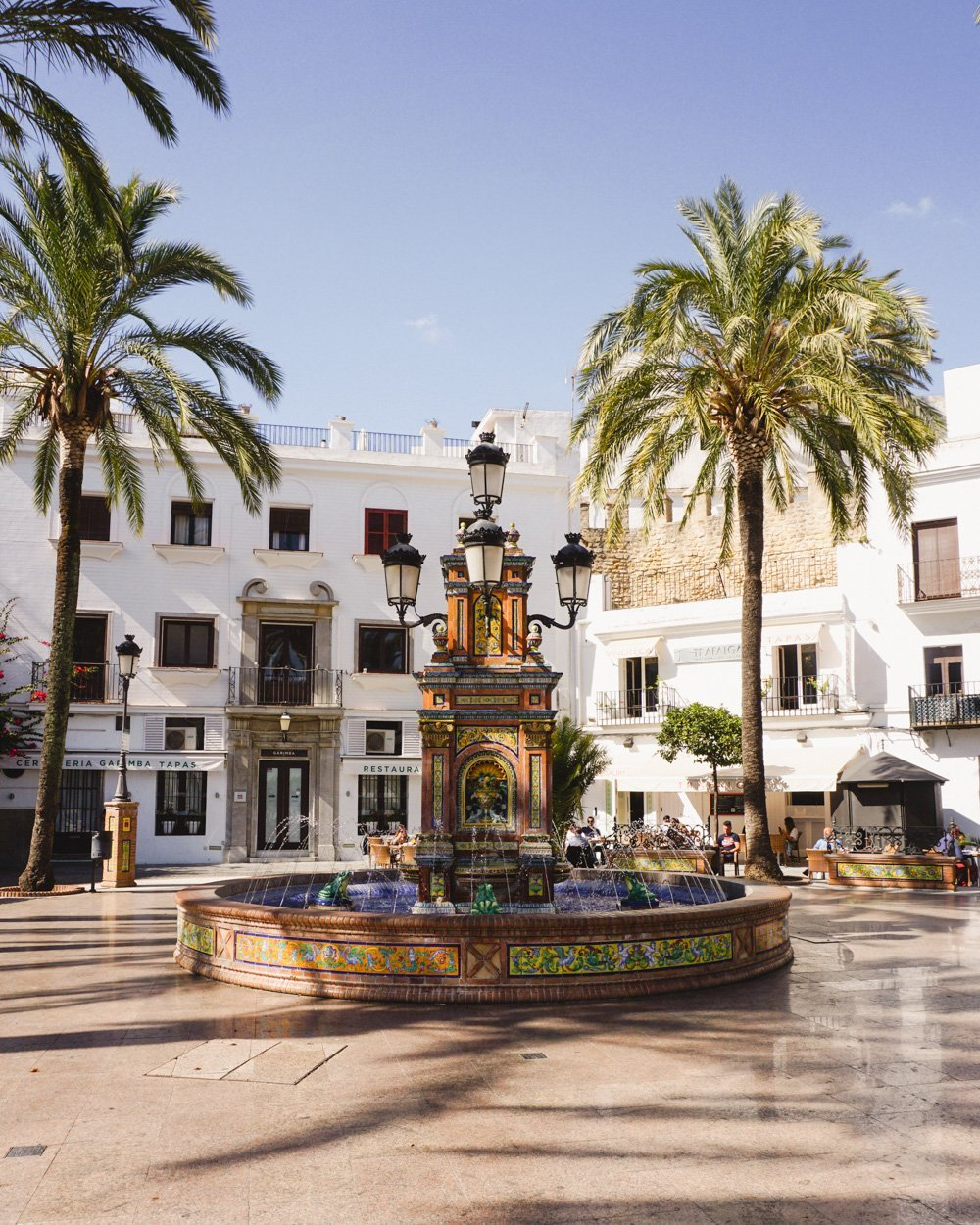 Plaza de España in Vejer de la Frontera