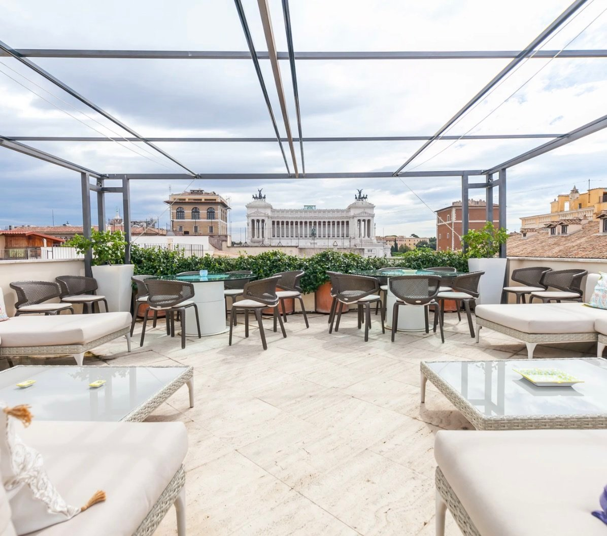 Apartment with view of Piazza Venezia